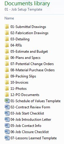 Project Folder Collapsed
